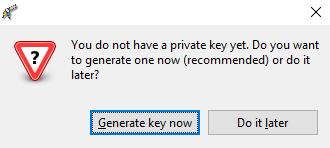 gpg4win key generation