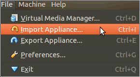 virtualbox setup