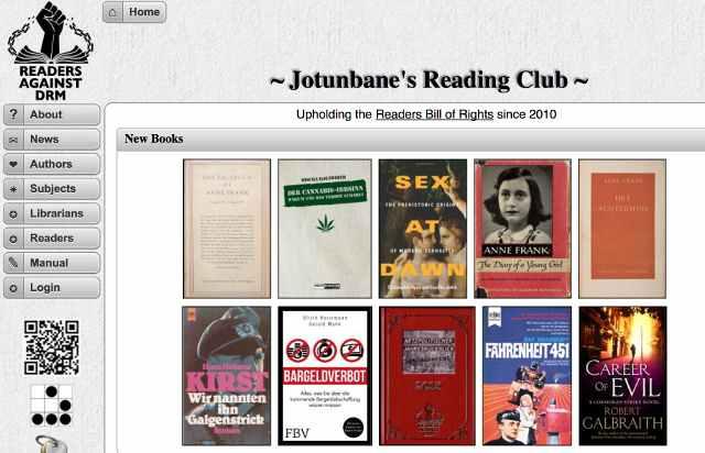 Tor Library Website