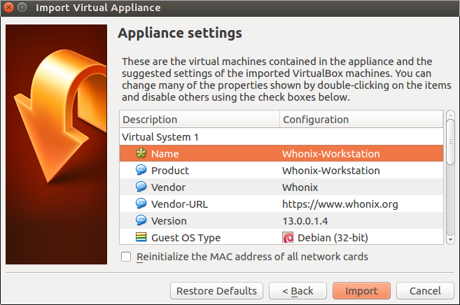 virtualbox setup2
